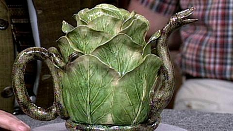Antiques Roadshow -- S16 Ep22: Appraisal: Palissy Ware Teapot, ca. 1865