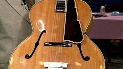 Antiques Roadshow -- S16 Ep22: Appraisal: Stromberg Archtop Guitar, ca. 1950