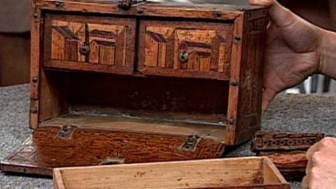Antiques Roadshow -- S16 Ep22: Appraisal: Peruvian Vargueño & Miniature Petaca, c