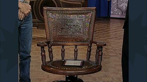Antiques Roadshow -- S12 Ep19: Appraisal: Benjamin Harrison Presidential Rocker,