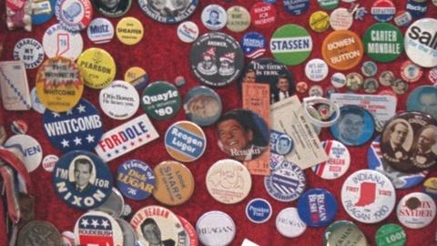 Antiques Roadshow -- S12 Ep19: Appraisal: 20th-Century American Political Buttons