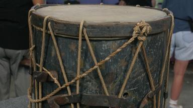 Appraisal: 1848 Taylor & Cass Campaign Drum