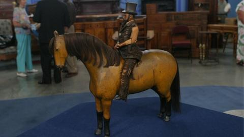 Antiques Roadshow -- S12 Ep19: Appraisal: 19th-Century Folk Art Horse & Rider