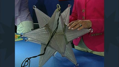 Antiques Roadshow -- S12 Ep19: Appraisal: Art Deco Star Lamp with White House Pro