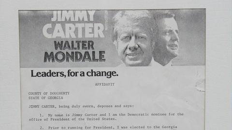 Antiques Roadshow -- S12 Ep19: Appraisal: 1976 Jimmy Carter Presidential Campaign