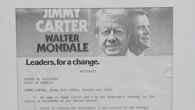 Appraisal: 1976 Jimmy Carter Presidential Campaign Affidavit