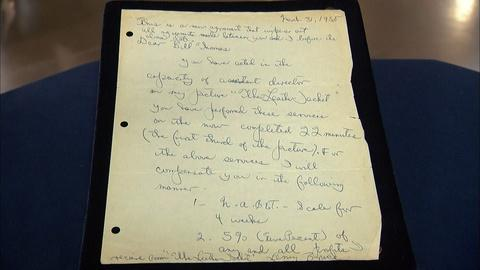 Antiques Roadshow -- Appraisal: 1958 Lenny Bruce Signed Contract