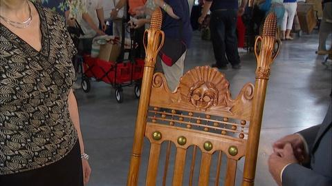 Antiques Roadshow -- Appraisal: Carved Cherry Rocking Chair, ca. 1905
