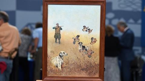 Antiques Roadshow -- S20 Ep26: Appraisal: 1942 Lynn Bogue Hunt Painting