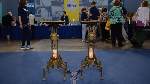 Antiques Roadshow -- S21 Ep1: Appraisal: Bradley & Hubbard Plant Stands, ca. 1880