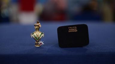 Appraisal: Tiffany & Co. Schlumberger Perfume Flask, ca. 196