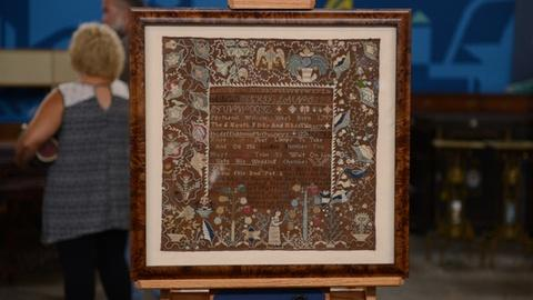 Antiques Roadshow -- S21 Ep1: Appraisal: 1817 Rhode Island Sampler