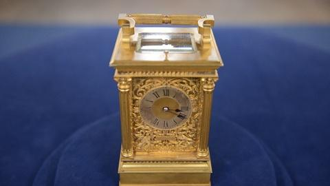 Antiques Roadshow -- S21 Ep1: Appraisal: French Carriage Clock, ca. 1900