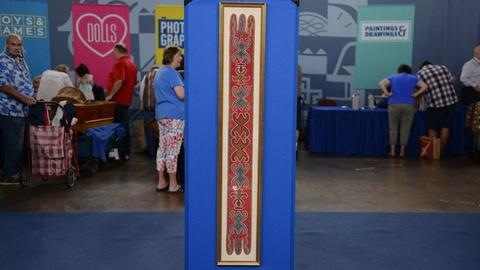 Antiques Roadshow -- S21 Ep1: Appraisal: Delaware Tribe Beaded Baldric, ca. 1835
