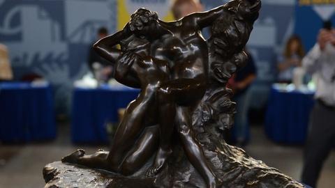 "Antiques Roadshow -- S21 Ep1: Appraisal: Auguste Rodin ""Eternal Spring"" Bronze, c"