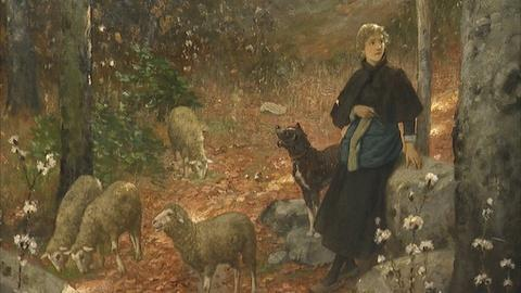 Antiques Roadshow -- Appraisal: 1899 Hubert Salentin Oil Painting