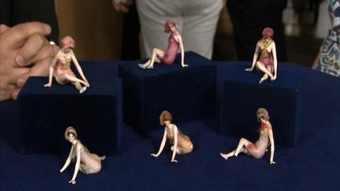 Antiques Roadshow -- S21 Ep1: Appraisal: Galluba & Hofmann Bathing Beauty Figurin