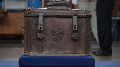 Appraisal: German Baroque Lockbox, ca. 1625