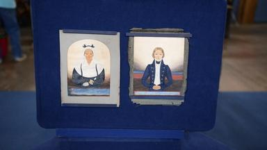 "Appraisal: 1832 ""The Guilford Limner"" Folk Portraits"