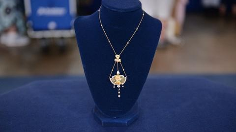 Antiques Roadshow -- S21 Ep2: Appraisal: American Art Nouveau Necklace, ca. 1910