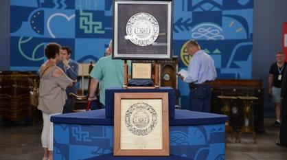 Antiques Roadshow -- Appraisal: 1936 Texas Centennial Plate & Mock-up