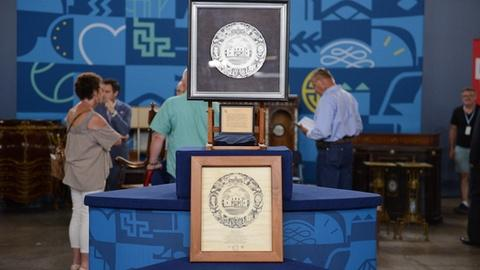 Antiques Roadshow -- S21 Ep2: Appraisal: 1936 Texas Centennial Plate & Mock-up