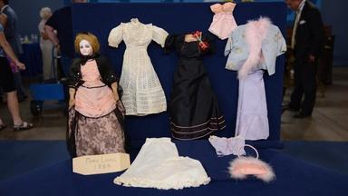 Appraisal: Jumeau Portrait Fashion Doll & Wardrobe