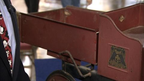 Antiques Roadshow -- S21 Ep2: Appraisal: Steelcraft Pedal Mack Dump Truck, ca. 19