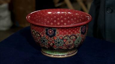 Appraisal: 1925 Galileo Chini Pottery Bowl