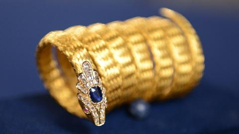 Antiques Roadshow -- S21 Ep3: Appraisal: English Woven Gold Snake Bracelet, ca. 1