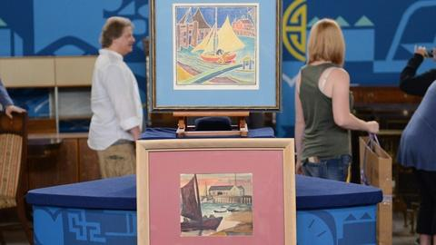 Antiques Roadshow -- S21 Ep3: Appraisal: Blanche Lazzell Watercolor & Woodcut