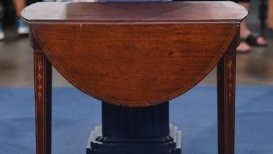 Appraisal: Inlaid Baltimore Pembroke Table, ca. 1795