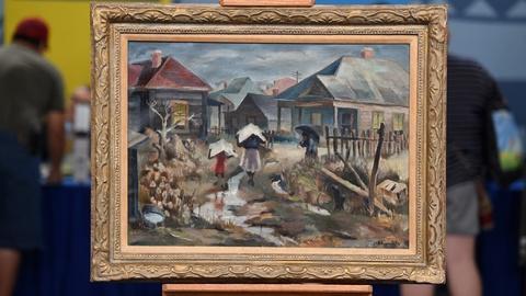 Antiques Roadshow -- S21 Ep3: Appraisal: 1940 William R. Hollingsworth, Jr. Oil P