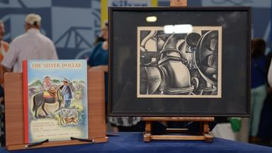 Appraisal: H. Cook Lithograph & B. Latham Illustration
