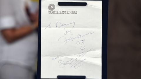 Antiques Roadshow -- S21 Ep3: Appraisal: 1974 John Lennon & Harry Nilsson Signatu