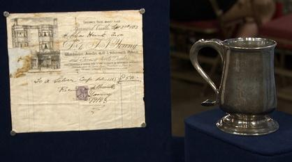 Antiques Roadshow -- Appraisal: 1788 Langlands & Robertson Sterling Tankard