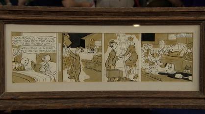 Antiques Roadshow -- Appraisal: 1959 Donald Duck Comic Strip