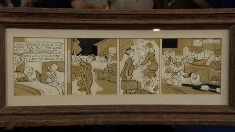 Antiques Roadshow -- S21 Ep3: Appraisal: 1959 Donald Duck Comic Strip