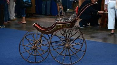 Appraisal: Victorian Baby Carriage, ca. 1870