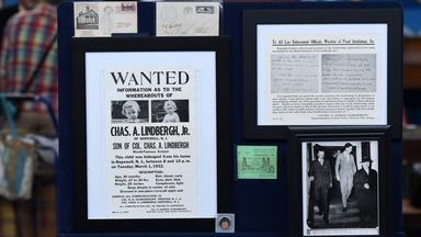 Appraisal: Lindbergh Kidnapping Trial Archive, ca. 1932