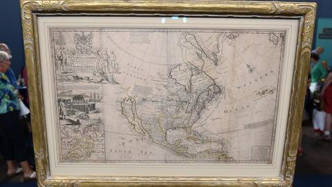 Antiques Roadshow -- S21 Ep4: Appraisal: Herman Moll Map of North America, ca. 17