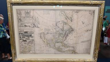 Appraisal: Herman Moll Map of North America, ca. 1715