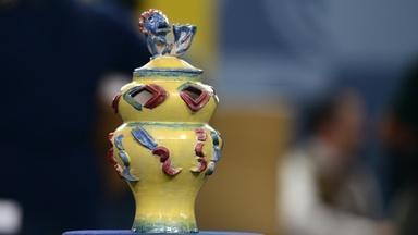 Appraisal: Wieselthier-signed Wiener Werkstätte Vase