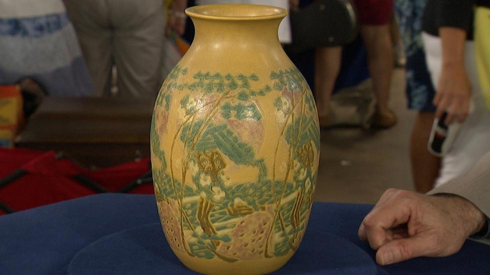 Antiques Roadshow Appraisal Overbeck Vase Ca 1920 Twin Cities Pbs