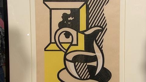 """Antiques Roadshow -- S21 Ep4: Appraisal: 1981 Roy Lichtenstein """"Picture & Pitcher"""