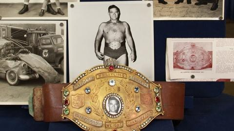 Antiques Roadshow -- S21: Web Appraisal: Orville Brown Wrestling Archive, ca. 194