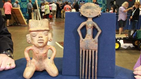 Antiques Roadshow -- S21: Web Appraisal: Costa Rican Figure & Reproduction Ashant