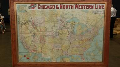 Web Appraisal: 1915 Rand McNally Railway Map