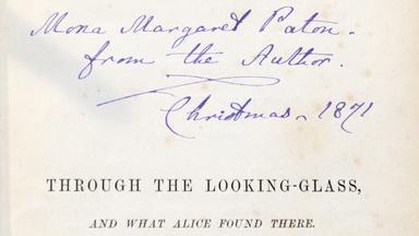 "Appraisal: 1871 Lewis Caroll ""Through The Looking Glass"""