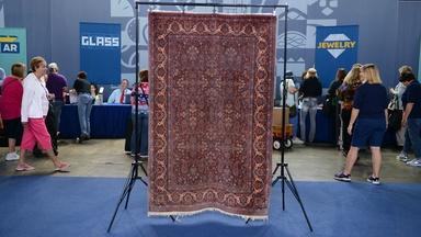 Appraisal: Manchester Wool Kashan Rug, ca. 1915